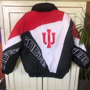 Vintage Indiana University Coat IU Large